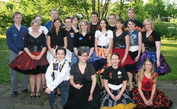 Gruppenfoto bei der Jahreshauptversammlung 2008, © Lion Squares Germany e. V.