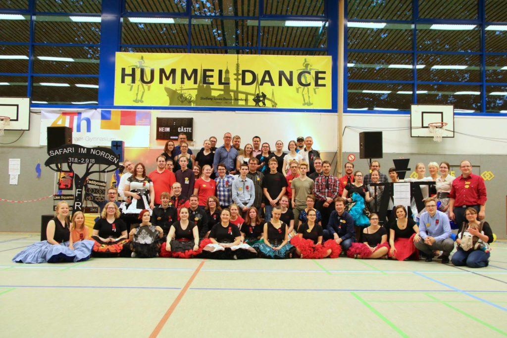 Gruppenfoto Hummel Dance in Hamburg, 20. Mai 2018, © Lion Squares Germany e. V.