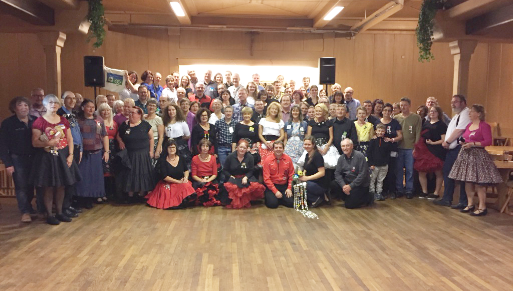 Gruppenfoto Clubabend Augsburg, 3. November 2018, © Lion Squares Germany e. V.
