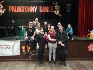 Gruppenfoto Palmbunny Dance, 16. März 2018, © Lion Squares Germany e. V.