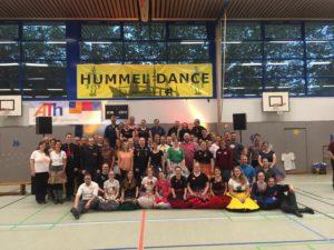 Gruppenfoto Hummel Dance am Samstagabend, © Lion Squares Germany e. V.