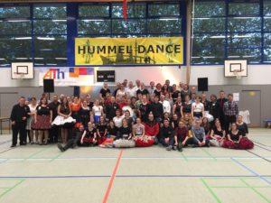 Gruppenfoto Hummel Dance am Sonntagabend, © Lion Squares Germany e. V.