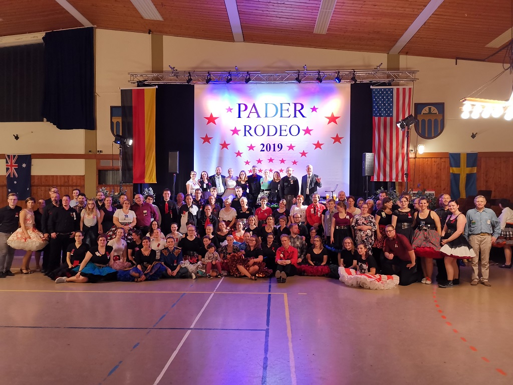 Gruppenfoto 33. Pader Rodeo 2019, © Lion Squares Germany e. V.