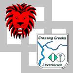 Logos Crossing Creaks & Lion Squares, © Lion Squares Germany e. V.