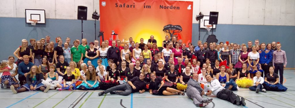 Gruppenfoto beim Fall Round Up 2018 in Pinneberg, © Lion Squares Germany e. V.