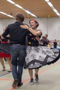 Tanzpaar beim Hummel Dance © Lion Squares Germany e. V.
